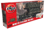 Airfix  1/32 WWI B Type Old Bill Bus Gift Set w/paint & glue ARX50163