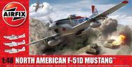 Airfix  1/48  F51D Mustang Fighter ARX5136
