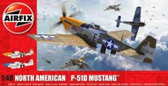 P-51D Mustang (Filletless Tails) Aircraft #ARX5138