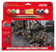 Airfix  1/32 German (WWII) Infantry Multi-Pose ARX55210