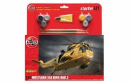 Airfix  1/72 Westland Sea King HAR3 Helicopter Large Starter Set w/paint & glue ARX55307