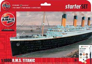 RMS Titanic Large Starter Set w/paint & glue #ARX55314