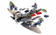Supermarine Spitfire D-Day QUICK BUILD (No glue or paint required) #ARX6045
