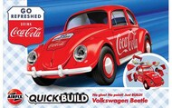 Airfix   N/A VW Beetle Coca-Cola QUICK BUILD (No glue or paint required) ARX6048