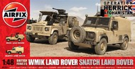 Airfix  1/48 WMIK & Snatch Land Rover British Army Vehicles (D) ARX6301
