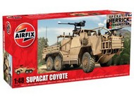 Airfix  1/48 Supacat Coyote  6x6 British Army Recon Assault Vehicle ARX6302