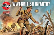Airfix  1/72 WWI British Infantry Figure Set (Re-Issue) ARX727