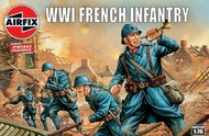 Airfix  1/72 WWI French Infantry Figure Set (Re-Issue) ARX728