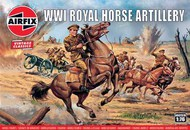 Airfix  1/72 WWI Royal Horse Artillery Figure Set (Re-Issue) ARX731