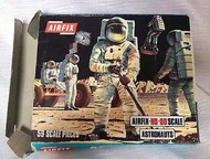 Airfix  1/72 Astronauts Figure Set (Re-Issue) ARX741