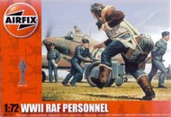 Airfix  1/72 WWII RAF Personnel Figure Set (Re-Issue) ARX747