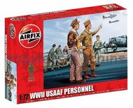 Airfix  1/72 WWII USAAF Personnel Figure Set (Re-Issue) ARX748