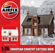Airfix  1/76 European Ruined Country Cottage - Pre-Order Item ARX75004