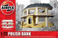 Airfix  1/76 Polish Bank READY BUILT UNPAINTED RESIN BUILDINGS. ARX75015