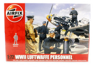 Airfix  1/72 WWII Luftwaffe Personnel Figure Set (Re-Issue) ARX755