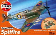 Airfix  Snap Quick Build Spitfire Fighter (Snap) ARXJ6000