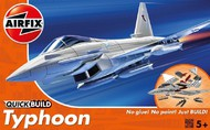 Airfix  Snap Quick Build Typhoon Fighter (Snap) ARXJ6002