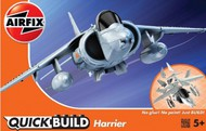 Airfix  Snap Quick Build BAe Harrier Aircraft (Snap) ARXJ6009