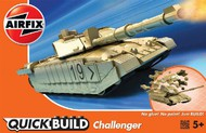 Airfix  Snap Quick Build Challenger Tank (Snap) - Pre-Order Item ARXJ6010