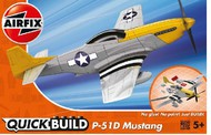 Airfix  Snap Quick Build Mustang P-51D Aircraft (Snap) ARXJ6016