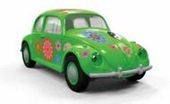 Quick Build Classic VW Beetle Flower-Power Car (Snap) #ARXJ6031
