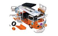 Airfix  Snap VW Camper Van Surfin' QUICK BUILD ARXJ6032