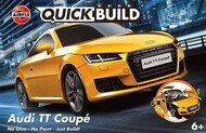 Airfix   N/A Audi TT Coupe QUICK BUILD Blue (No glue or paint required)NEW TOOL ARXJ6034