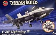 Lockheed-Martin F-35B Lightning IIQUICK BUILD Blue (No glue or paint required)NEW TOOL* #ARXJ6040