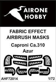 Airone Hobby  1/72 Caproni Ca.310 fabric effect aileron and control surfaces airbrush masks AHF72014