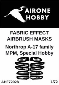 Airone Hobby  1/72 Northrop A-17 family Mask AHF72028