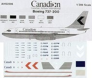 Airline Hobby Supplies  1/200 Boeing 737-200 Canadian/Canadian Airlines International . AHS2006
