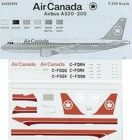 Airline Hobby Supplies  1/200 Airbus A320-200 Air Canada . AHS2015