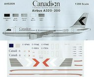 Airline Hobby Supplies  1/200 Airbus A320-200 Boeing 737-200 Canadian/Canadian Airlines International . AHS2026