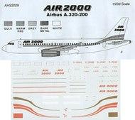 Airline Hobby Supplies  1/200 Airbus A.320-200 Air 2000 AHS2029