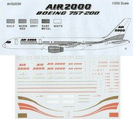 Airline Hobby Supplies  1/200 Boeing 757-200 Air 2000 . ONLY ONLY! NOW AHS2030