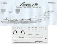 Airline Hobby Supplies  1/200 Fokker F-28-1000 Fellowship AHS2035