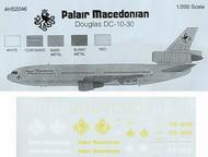 Airline Hobby Supplies  1/200 McDonnell-Douglas DC-10 -30 PALAIR MACEDONIAN VR-BNR AHS2046