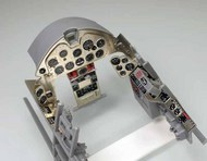 Airscale Model Aircraft Enhancements  1/24 F6F Hellcat Instrument Panel Upgrade (Photo-Etch & Decal) for ARX AIC2425