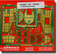 Airwaves  1/48 P-38J Droopsnoot Lightning Detail Set - Pre-Order Item AEC48092