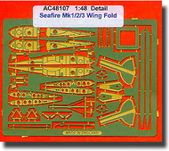 Airwaves  1/48 Seafire 1/2/3 wingfold (designed to be used with the Airfix kits) - Pre-Order Item AEC48107