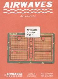 Airwaves  1/35 Tiger/Sturmtiger Engine Grills AW350043