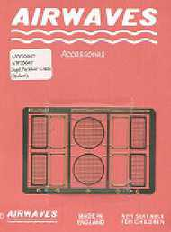 Airwaves  1/35 Early Jagd Panther grills (IT) AW350047