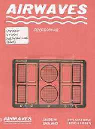 Airwaves  1/35 Early Jagdpanther grills (IT) - Pre-Order Item AW350047