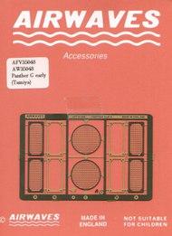 Airwaves  1/35 Early Panther G grills Tamiya - Pre-Order Item AEC35048
