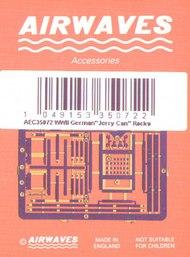 Airwaves  1/35 German WW 2 Jerry Can 5 styles - Pre-Order Item AEC35072