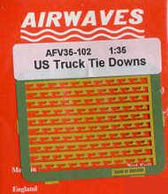 Airwaves  1/35 US GMC Truck Tie Downs - Pre-Order Item AEC35102