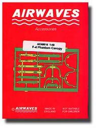 Airwaves  1/48 F-4 Phantom Canopy - Pre-Order Item AEC48014