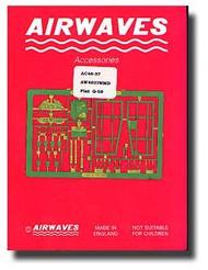Airwaves  1/48 Fiat G-50/bis Detail - Pre-Order Item AEC48037