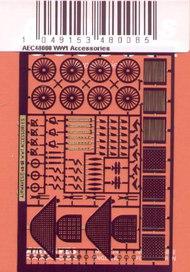 WWI A/C acessories Seats/Belts/Gunsights #AW484008