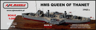 HMS Queen Of Thanet British armed paddle steamer WWII #AJM350-002